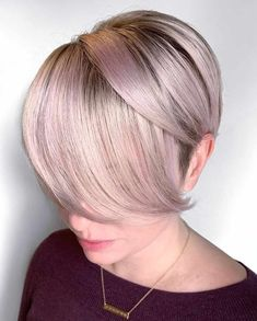 50 Hottest Pixie and Bob Hairstyles for 2019 bob BobHairstyles Hair Hairstyles Pixie pixiehairstyles shorthaircut shorthairstyles trends Short Hairstyles Hairstyles 2019 cutebobhaircuts Cute Bob Haircuts, Asymmetrical Bob Haircuts, Wavy Bob Hairstyles, Latest Hairstyles, Trending Hairstyles, Blonde Bob Haircut, Pixie Haircut, Short Textured Bob, Chin Length Bob