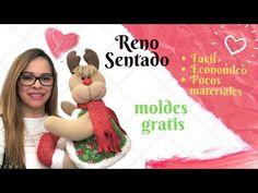 Como Hacer Un Reno Sentado con moldes gratis - YouTube Crochet Hats, Youtube, Gnome, North Pole, Videos, Crochet Ornaments, Creative Crafts, Christmas Patterns, Knitting Hats