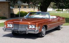 1973 Cadillac Eldorado  Maintenance/restoration of old/vintage vehicles: the material for new cogs/casters/gears/pads could be cast polyamide which I (Cast polyamide) can produce. My contact: tatjana.alic@windowslive.com