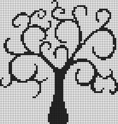 tree pattern Pentacle Pentagram Perler Bead Pattern / Bead Sprite Minecraft blanket crochet MLP Applejack perler bead pattern Stitch Fiddle is an online crochet, knitting and cross stitch pattern maker. Tiny Cross Stitch, Cross Stitch Tree, Counted Cross Stitch Patterns, Cross Stitch Designs, Crochet Leaf Patterns, Crochet Leaves, Embroidery Patterns, Pixel Art Grid, Graph Paper Art