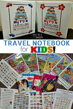 Road Trip Binder for Kids DIY Road Trip Binder for kids! My kids are gonna love these on our trip!DIY Road Trip Binder for kids! My kids are gonna love these on our trip! Road Trip With Kids, Family Road Trips, Travel With Kids, Family Travel, Family Vacations, Family Getaways, Toddler Travel, Road Trip Activities, Road Trip Games