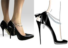 More shoe jewelry.  I'm definately trying this.