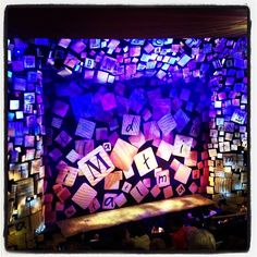 Matilda The Musical Party Ideas - Use paper sheets with the alphabet on to decorate a room or party table. Matilda Cast, Matilda Broadway, Theatre Geek, Theatre Design, Musical Theatre, Matilda Costume, Shubert Theater, Broadway Theme, Class Displays