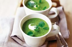 Menu of the month: March - pea soup