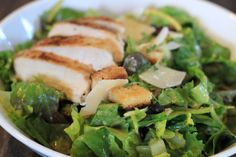 Classic recipe: Casear's salad! So delicious and easy to make.