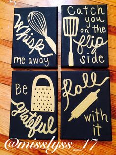 Kitchen Canvases