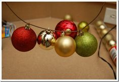 Easy to follow how to on making a ornament ball Christmas wreath! Only $11!!!!