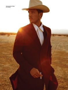 Adam Senn is a Lonely Cowboy for DSection #7
