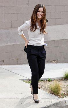 Rachel Bilson, simple yet classy outfit