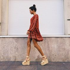 Find and save ideas about Street Style Looks on Women Outfits. Spring Summer Fashion, Spring Outfits, Spring Style, Summer Outfit, Look Boho Chic, Mode Top, Inspiration Mode, Mode Style, Hippie Style