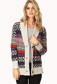 Aztec sweater forever 21