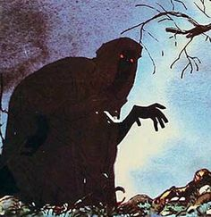 Lord of the Rings art direction by Ralph Bakshi Tolkien, Dark Fantasy, Fantasy Art, Ralph Bakshi, Art Of Noise, Horror Art, Horror Movies, Grim Reaper, Lord Of The Rings