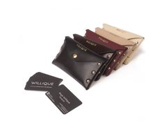 Willique Note Purse | These wallet purses are made from Italian leather and soft to the touch. Width: 6.5 Height: 4 inches
