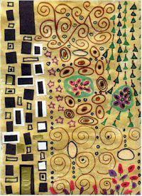 Gustav Klimt inspired Art