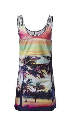 Roxy dress, $54, roxy.com.   - HarpersBAZAAR.com