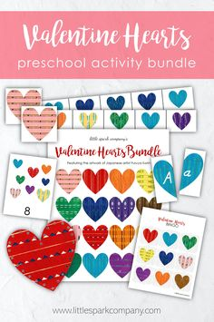 Add a little seasonal love to your shelves with the Valentine Hearts Bundle featuring the beautifully colourful woodblock prints of Japanese artist Furuya Korin. This digital download is packed with over 130 pages of beautifully illustrated resources that your little spark will surely enjoy. Montessori Homeschool, Montessori Toddler, Counting Activities, Language Activities, Handwriting Practice Sheets, Lacing Cards, Player Card, Valentine Hearts, Alphabet Cards