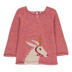 Oeuf NYC Unicorn Alpaca Wool Baby Jumper-product