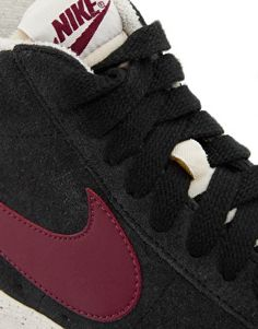 Image 2 of Nike Blazer Mid Suede High Top Trainers