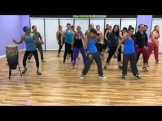 "▶ ""Uptown Funk"" - Choreo by KELSI for Club Fitz - YouTube - LOVE THEM - would be so fun to incorporate the part at the end"