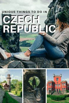 The Czech Republic is full of beautiful places to visit outside of the popular city of Prague. Destination Voyage, European Destination, European Travel, Beautiful Places To Travel, Best Places To Travel, Travel Things, Europe Travel Guide, Europe Europe, Eastern Europe