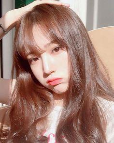 G Cute Korean Girl, Asian Girl, Different Braids, Girl Korea, Uzzlang Girl, Coloured Hair, About Hair, Pretty Hairstyles, Pretty People