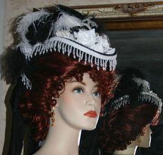 Victorian Hat SASS Hat Steampunk Hat Gothic Hat by darnasderbyhats