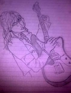 una bonita guitarra