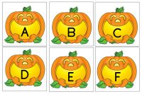 Pumpkin letters and sight words freebie for Halloween