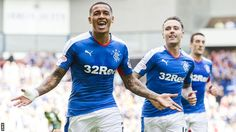 James Tavernier  Rangers stretched their lead at the top of the Championship with a performance that demoralised Raith Rovers. Lee Wallace established an early advantage from a well-worked free-kick, with James Tavernier adding a second just before half-time when he latched onto Nathan Oduwa's flick. The comprehensive victory was secured through Barrie McKay's effort from close range. And Martyn Waghorn increased the advantage with two penalties.