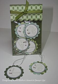"""Tag Pouch.  adapted for 4x6 cello bags: 4-1/8""""x8-1/8"""" scored at 6"""" and 6-1/4"""".  didn't do scalloped edge and embossed cherry cobbler card stock with petals a plenty TEIF."""