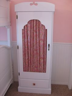 Before & After Thrift Gun Case Turned Dress-Up Armoire