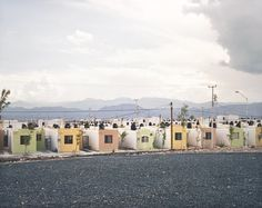 Fragmented Cities, Juarez #2, from the series Suburbia Mexicana, 2007 by Alejandro Cartagena. San Francisco Museum of Modern Art