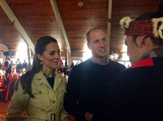 The Duke and Duchess of Cambridge travelled to Bella Bella for a day of engagements, getting day three of their royal tour of British Columb...