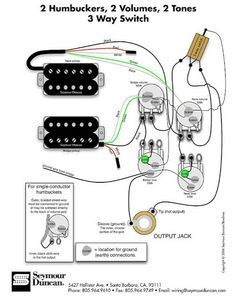 Guitar wiring diagram 2 humbuckers 3 way toggle switch 1 volume 2 on 2 humbucker wiring 3 way switch 2 humbucker 1 volume 1 tone 3 way switch wiring Wiring a 3 Way Switch with 2 Lights
