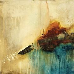 ABSTRACT ART Canvas Print of The Best Is Yet To Come..