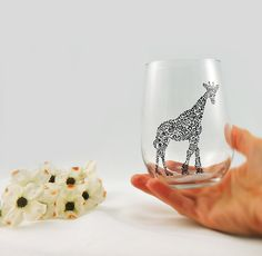 These beautifully hand-painted wineglasses.