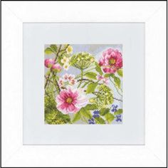 Lanarte Peonies Counted Cross-Stitch Kit $39.99