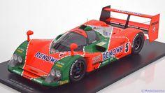 Mazda MX-R01, 24h Le Mans 1992, No.5, Herbert/Weidler/Gachot. Spark, 1/18, No.18S127. 150 EUR