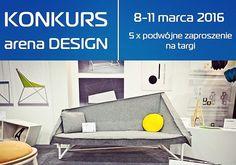 www.arenadesign.pl już niedługo! Wskakujcie tutaj: www.bit.ly/AplikacjaKonkursowa, aby wygrać wejściówki. Zabawa trwa do 23 lutego!