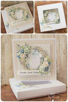 Craft Cards, Kids Cards, Baby Crafts, Diy And Crafts, Baby Frame, Explosion Box, Craft Corner, Cute Cards, Making Ideas