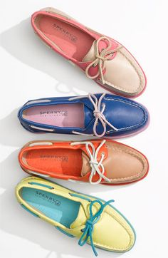 Sperry Top-Sider® 'Authentic Original' Leather Boat Shoe | Nordstrom.  Tan though I wish