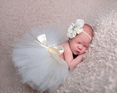 Newborn Tutu Clothes Dress Skirt Baby Girls Knitted Crochet Photo Prop Outfits #UnbrandedGeneric
