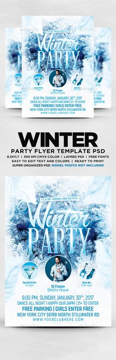 Movie Night Flyer | Flyer Template, Font Logo And Logos
