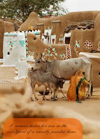 A little away from the city enclosed within the honey coloured walls of the Jaiselmer fort, Rajasthan, .