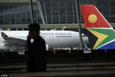 South African Airways (SAA) Investigating Body Found On Aircraft