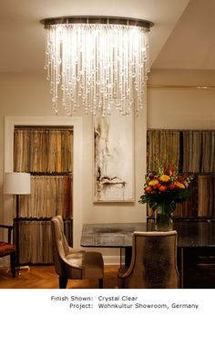 Cascade Luminaire Grand by Boyd Lighting - if only it didn't hang soo low, Lil Dumplin would look sooo good with this!