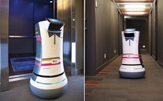 Robot Butlers - 11 Amazing Things Found in the Hotel Room of the Future | Travel + Leisure