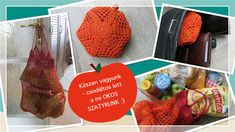 Éva Bababolt - amigurumi minták: Okos szatyor Crochet Market Bag, Doll Shop, Bagan, Evo, The Creator, Stuff To Buy, Fans, Coffee, Amigurumi