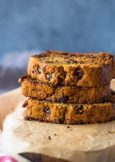 This no fail recipe makes the best moist and tastiest banana bread you will find! It contains no sugar or butter!It's finally here! We are a huge fan of banana bread. Some how, we always en…