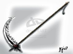 Scythe. This is probably on or the coolest designs I have seen in a long time.